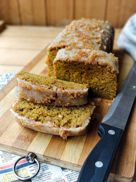 Whole Wheat Pumpkin Cake